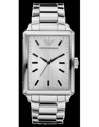 Chic Time | Montre Emporio Armani AR0418 Homme Classic Rectangulaire  | Prix : 189,00€