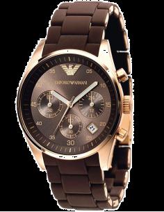 Chic Time | Montre Emporio Armani Sportivo AR5891 Chocolat  | Prix : 319,20€