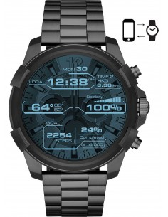 Chic Time | Montre Connectée Diesel Smartwatch Full Guard DZT2004 Noir  | Prix : 332,10 €