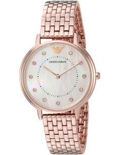 Chic Time | Montre Femme Emporio Armani Kappa AR11006 Or Rose  | Prix : 239,20€