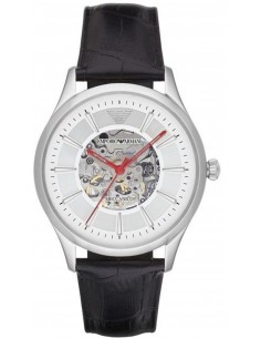 Chic Time | Montre Homme Emporio Armani Meccanico AR2072 Noir  | Prix : 339,00€