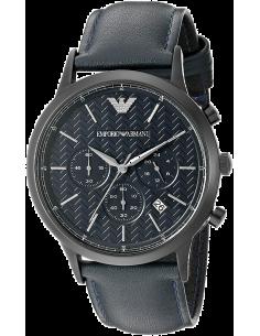 Chic Time | Montre Emporio Armani AR2481 Renato bleue nuit  | Prix : 224,25€