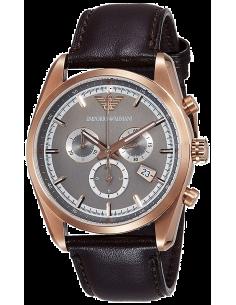 Chic Time | Montre Homme Emporio Armani Sportivo AR6005 Marron  | Prix : 259,00€