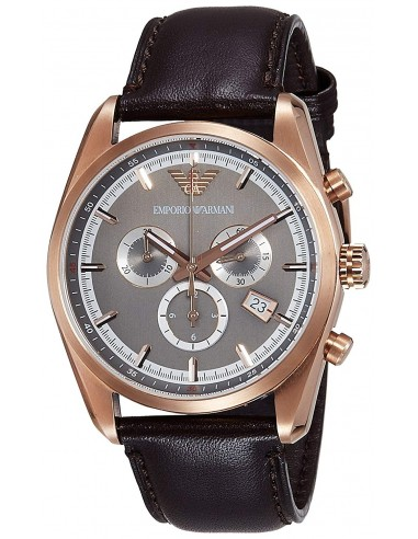Chic Time | Montre Homme Emporio Armani AR6005 Marron  | Prix : 287,20€