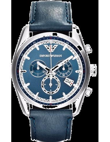 Chic Time   Montre Homme Emporio Armani AR6041 Bleu    Prix : 299,00€