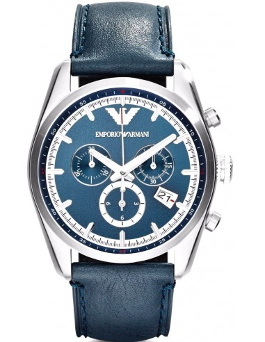 Chic Time | Montre Homme Emporio Armani AR6041 Bleu  | Prix : 299,00€