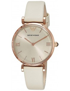 Chic Time | Montre Femme Armani Classic AR1769 Blanc  | Prix : 215,20€