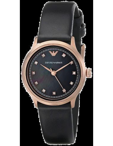 Chic Time   Montre Femme Armani Classic AR1802 Noir    Prix : 259,00€