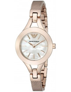 Chic Time | Montre Femme Armani Classic AR7329 Or Rose  | Prix : 279,20 €