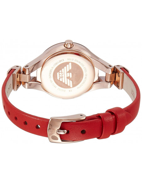 Chic Time | Montre Femme Armani Classic AR7394 Rouge  | Prix : 269,00€