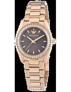 Chic Time | Montre Femme Emporio Armani Sportivo AR6030 Bracelet en acier or rose  | Prix : 369,00€