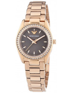Chic Time | Montre Femme Emporio Armani Sportivo AR6030 Bracelet en acier or rose  | Prix : 287,20€