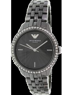 Chic Time | Montre Emporio Armani Ceramica AR1478 bracelet noir en céramique  | Prix : 534,00€