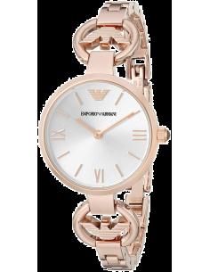 Chic Time | Montre Femme Emporio Armani Retro AR1773 Bracelet doré rose en acier inoxydable  | Prix : 399,00€