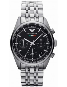 Chic Time | Montre Homme Armani Sportivo AR5984 Argent  | Prix : 399,00€