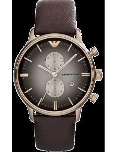 Chic Time | Montre Homme Armani Retro AR1755 Marron  | Prix : 299,00€