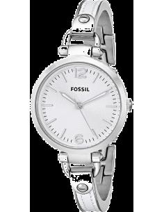 Chic Time | Montre Fossil Georgia ES3259 Cadran épuré Bracelet en cuir  | Prix : 104,30€