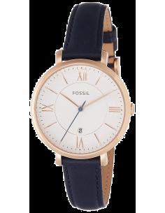 Chic Time | Montre Femme Fossil Jacqueline ES3843 Bleu  | Prix : 126,65€