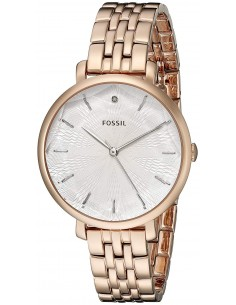 Chic Time | Montre Femme Fossil Jacqueline ES3860 Or Rose  | Prix : 141,75 €