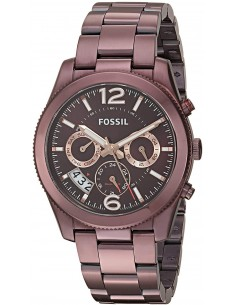 Chic Time | Montre Femme Fossil Perfect Boyfriend ES4110 Marron  | Prix : 160,65 €