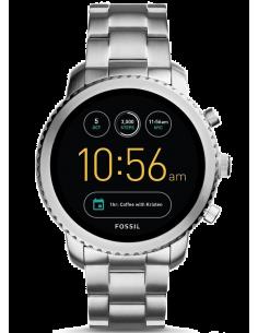 Chic Time | Montre Connectée Fossil Q Explorist FTW4000 Bracelet Acier  | Prix : 329,00€