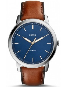 Chic Time | Montre Homme Fossil The Minimalist Slim FS5304 Bleu  | Prix : 143,65 €