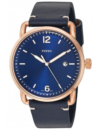 Chic Time | Montre Homme Fossil The Commuter FS5274 Bleu  | Prix : 118,15 €