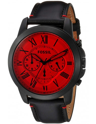 Chic Time | Montre Homme Fossil Grant FS5242 Noir  | Prix : 139,00€