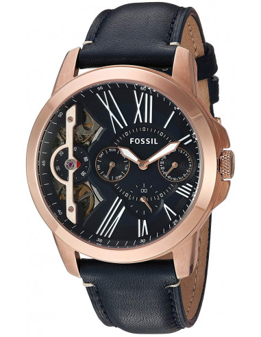 Chic Time   Montre Homme Fossil Grant Twist ME1162 Bleu    Prix : 160,00€