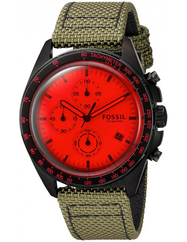 Chic Time | Montre Homme Fossil Sport 54 CH3064 Vert  | Prix : 159,00€