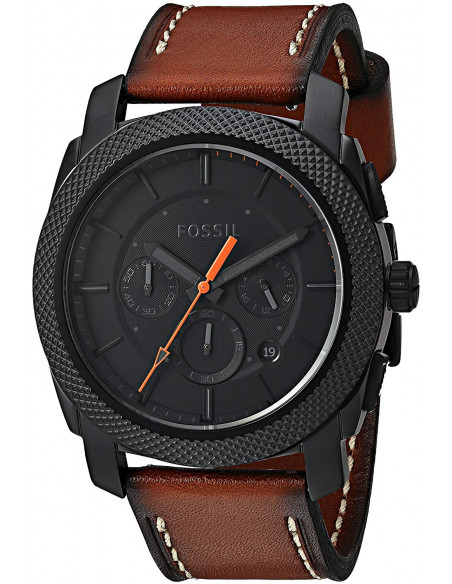 Chic Time | Montre Homme Fossil Machine FS5234 Marron  | Prix : 149,00 €