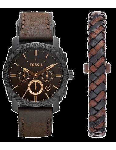 Chic Time | Montre Homme Fossil Machine FS5251SET Marron  | Prix : 159,00€