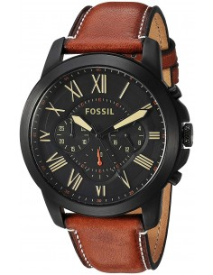 Chic Time | Montre Homme Fossil Grant FS5241 Marron  | Prix : 159,20€