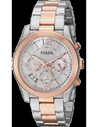 Chic Time | Montre Femme Fossil Perfect Boyfriend ES4135 Argent  | Prix : 169,00€