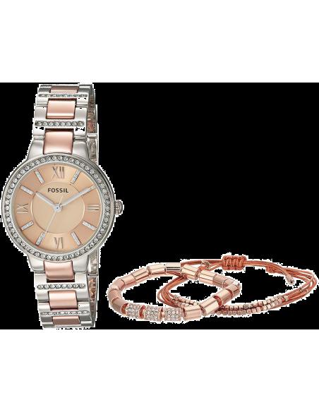 Chic Time   Montre Femme Fossil Virginia ES4137SET Or Rose    Prix : 159,00€