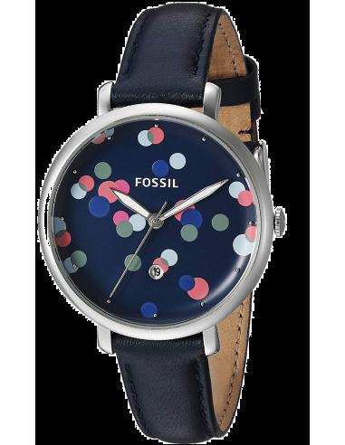 Chic Time | Montre Femme Fossil Jacqueline ES4103 Bleu  | Prix : 99,00€