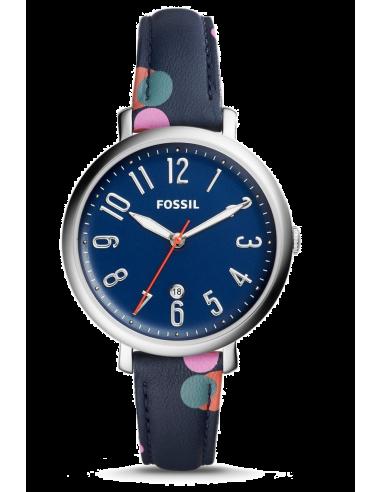 Chic Time | Montre Femme Fossil Jacqueline ES4132 Bleu  | Prix : 99,00€