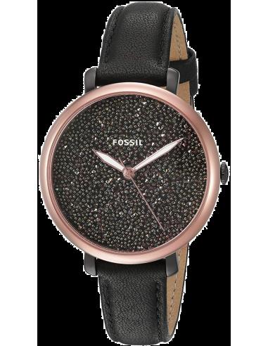 Chic Time | Montre Femme Fossil Jacqueline ES4097 Noir  | Prix : 139,00€