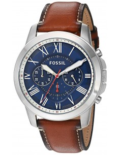Chic Time | Montre Homme Fossil Grant FS5210 Marron  | Prix : 169,15€