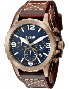 Chic Time | Montre Homme Fossil Nate JR1505 Marron  | Prix : 119,00 €