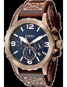 Chic Time | Montre Homme Fossil Nate JR1505 Marron  | Prix : 119,00€
