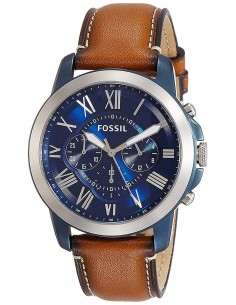 Chic Time | Montre Homme Fossil Grant FS5151 Marron  | Prix : 159,20€