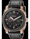 Chic Time | Montre Homme Fossil Machine FS5120 Noir  | Prix : 135,20€
