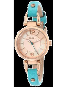 Chic Time | Montre Femme Fossil Georgia ES3744 Bleu  | Prix : 65,45€