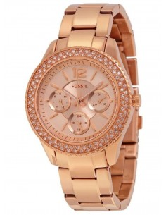 Chic Time | Montre Femme Fossil Stella ES3590 Or Rose  | Prix : 160,65 €