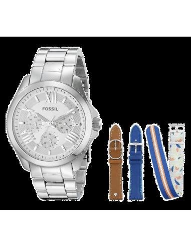 Chic Time | Montre Femme Fossil LE1036 Argent  | Prix : 289,00€