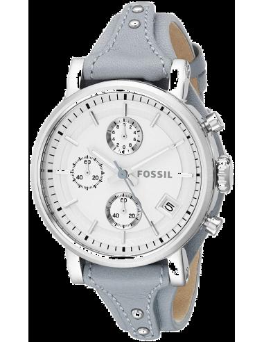 Chic Time | Montre Femme Fossil Original Boyfriend ES3820 Bleu  | Prix : 119,00€