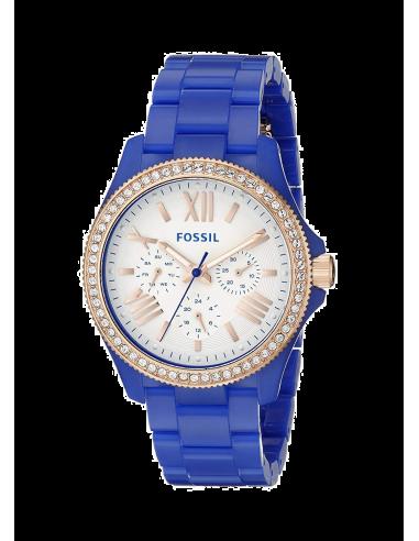 Chic Time | Montre Femme Fossil Cecile AM4627 Bleu  | Prix : 149,00€