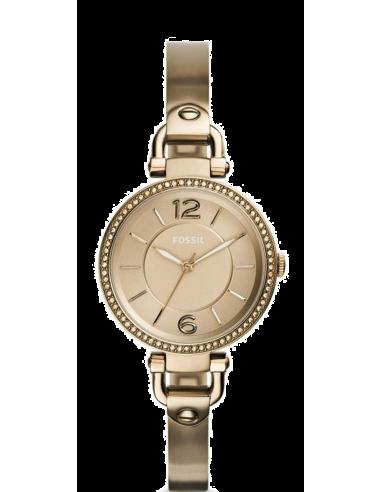 Chic Time   Montre Femme Fossil Georgia ES3825 Or    Prix : 159,00€