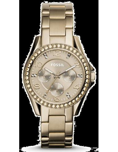 Chic Time | Montre Femme Fossil Riley ES3824 Or  | Prix : 159,00€